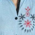 Embroidered Pattern Stylish Kurti