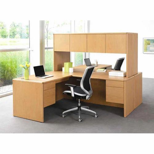 attractive wooden office desk. Brown Attractive Wooden Office Desk F
