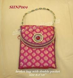 Beaded Handle Purse