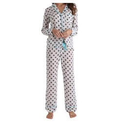 Ladies Dotted Night Suit