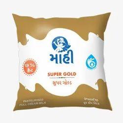 Pasteurized Maahi Super Gold Pasteurised Full Cream Milk, Fat: 7.0 %, Quantity Per Pack: 500 Ml