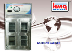 Stainless Steel Garment Cabinet