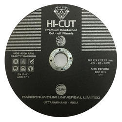 Hi Cut Cutoff Wheel