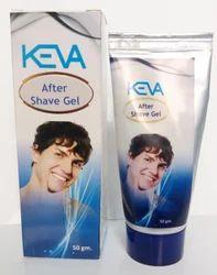 KEVA INDUSTRISE Keva After Shave Gel, Pack Size: 50 Gm, for SHALOON