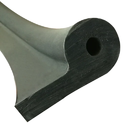 P Shaped Dam Rubber Seal, For Industrial, Packaging Type: Carton