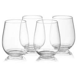 Transparent Crystal Drinking Glass