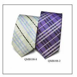 QMB108-8 QMB108-2 Mens Microfiber Tie