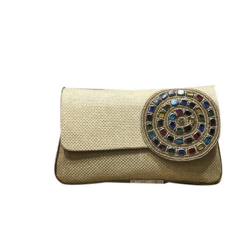 Embroidery Las Wedding Clutch