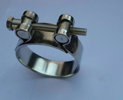 Stainless Steel Pipe Clamp, Size: 1/2-4 inch
