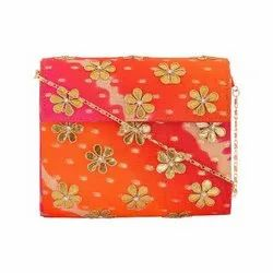 Gota Patti Clutch Handbag