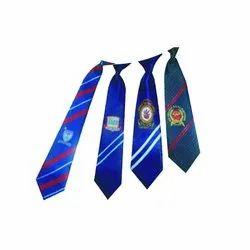 Woven School Logo Ties