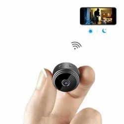 Mini Hidden Wifi Camera 1080p With Night Vision & Easy Installation For Home Security & Nanny Cam