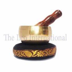 Handmade bronze tibetan Singing Bowl shinny polish