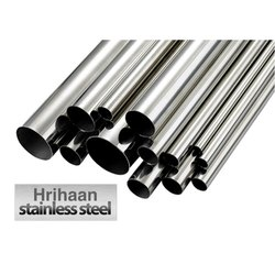 Brushed Hrihaan Stainless Steel Pipe