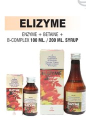 Enzyme & B-Complex And Betaine Syrup, Packaging Type: 200 Ml Bottle With Outer Box, Packaging Size: 200 Ml Pet Bottle