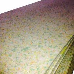 Multicolor Rebound Foam Sheet, Size: 6x3 Feet, Thickness: 1-4 Inch