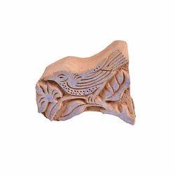 Bird Wooden Henna Printing Block