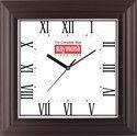 Logo Printed Square Wall Clock