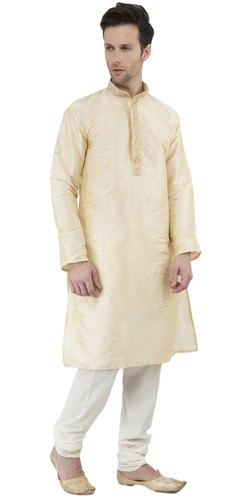 72bdfb333dc Indian Kurta Pajama Long Sleeve Button Down Dress for Men Traditional Wear