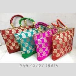 Silk Brocade Bag