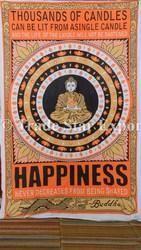 Meditation Lord Buddha Tapestry Wall Decor