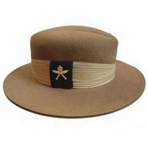 0a758a6f004 Brown Gurkha Designer Hat
