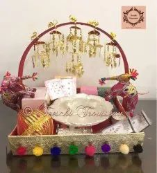 Female Wedding Trousseau Packing