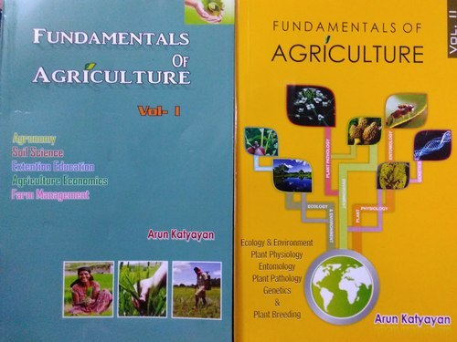 Fundamentals Of Agricultural Vol 1 And 2 Book At Rs 650 Piece