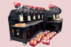 Hawai Chappal Sole Cutting Machine