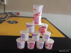 White Hot Drink Disposable Paper Cup, Capacity: 65 ml