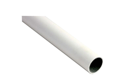 ABS Plastic Coated Steel Pipe In Ivory 0.8mm