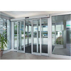 Motorized Sliding Glass Door