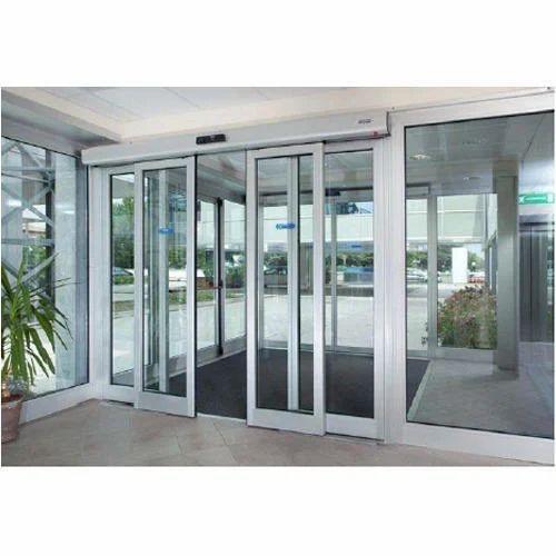 Motorized Sliding Glass Door