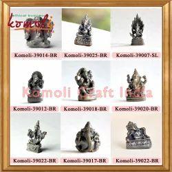 Bronze Metal Ganesha Miniature Ganesha Statues