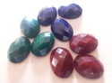 Indian Dyed Ruby Corundum
