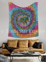 Tie & Dye Mandala Tapestry