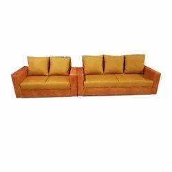 Orange Seating Sofa Set