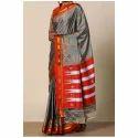 Fashionable Embroidered Saree, 6 M