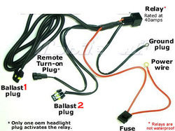 HID Wire Harness - HID Relay Harness Latest Price ... Hid Wiring Harness Relay on