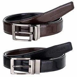 Leather MarkQues OPTRA Men's Black & Brown Belt