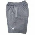 Grey Casual Wear Shorts Pant