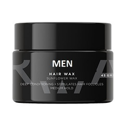 Men Hair Styling Wax, Type of Packing: Bottle