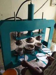 3 Die Semi Automatic Hydraulic Paper Plate Making Machine
