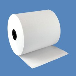 White ATM Paper Roll