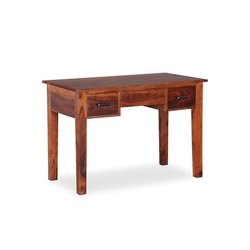 Brown Rectangular Wooden Study Table, For Home