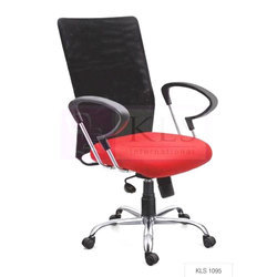 Red And Black KLS-1095 Adjustable Mesh Chair