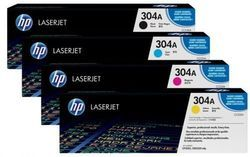 HP 304A Black Original Laser Jet Toner Cartridge Set