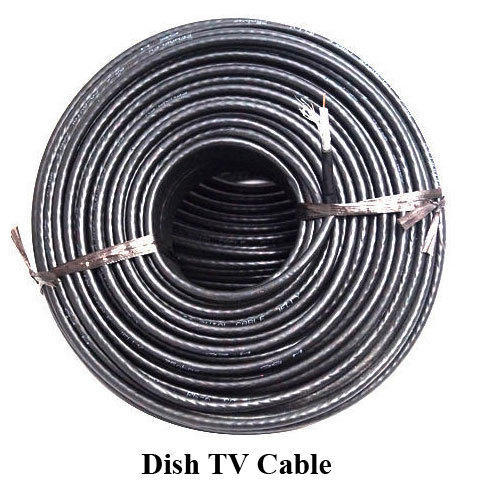 Dish TV Cable at Rs 6 /meter | Dish Cable | ID: 14454286412