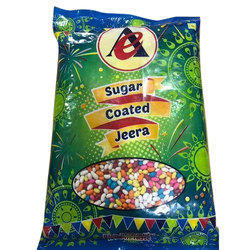 500 Gram Sugar Coated Jeera Medium Size, Pack Type: Packet