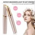 Women''s Painless Facial Hair/Eyebrows Remover Electric Trimmer